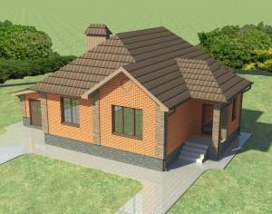 Проект одноэтажного дома в Белгороде