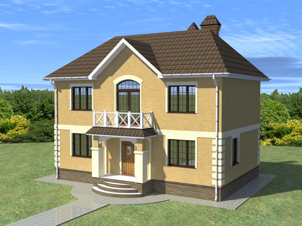 фото дома двухэтажного