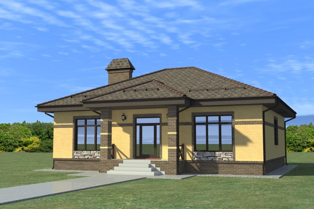 Одноэтажные дома проекты