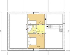 Проект дома с мансардой, 127,6 м2