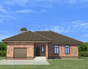 Проект одноэтажного дома, 179,3 м2