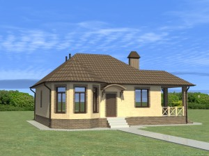 Проект одноэтажного дома
