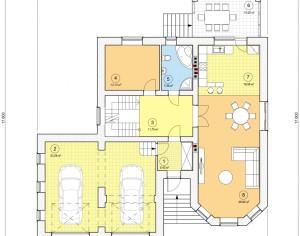 Проект двухэтажного дома, 373,52 м2