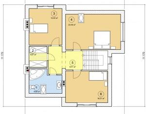 Проект двухэтажного дома, 204,69 м2