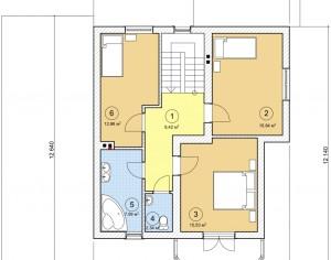 Проект двухэтажного дома, 172,63 м2