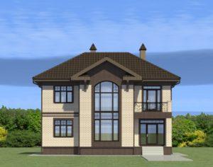 Проект двухэтажного дома, 178,80 м2