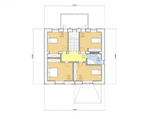 Проект двухэтажного дома, 191,85 м2