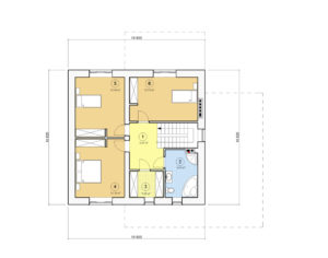 Проект двухэтажного дома, 202,48 м2